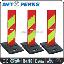 Emergency High Visible Traffic Delineator For Vehicle
