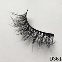 New Design Faux Mink Eyelash Silk Lashes mink eyelashes 3d mink lashes