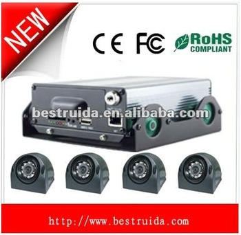4 channel Mobile DVR with camera
