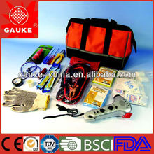 Emergency car kit car basic roadside emergency kit check list kit