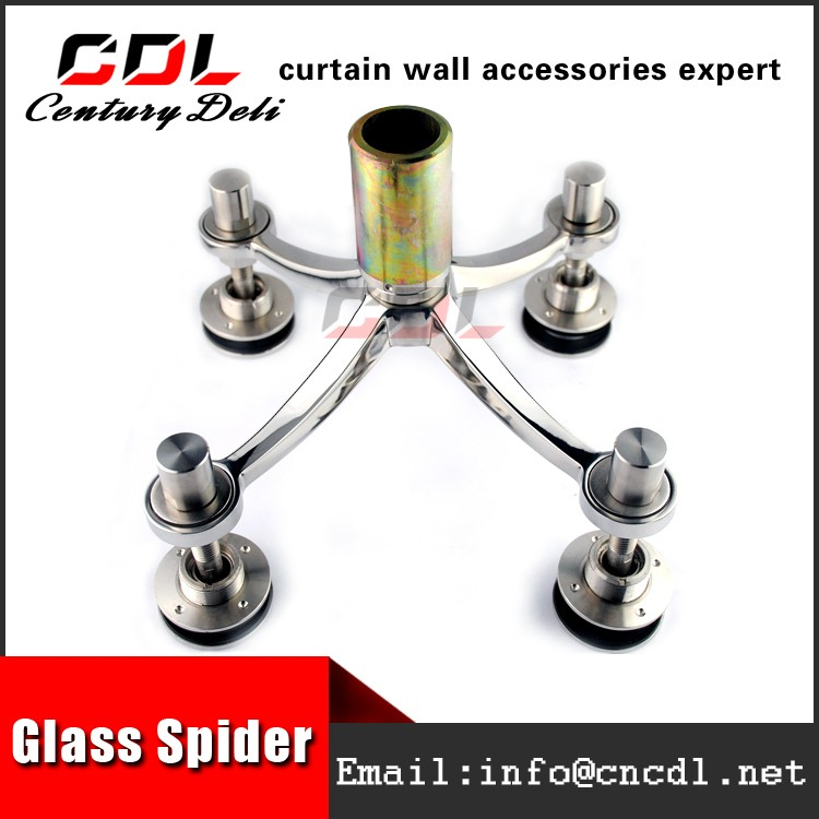 304/316 200mm series safe ss glass spider for canopy curtain wall fittings 4 arms