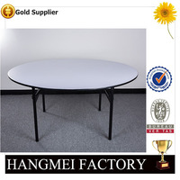 2016 factory direct sell PVC plywood dining table