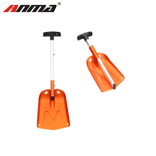 Custom retractable long handle multifunction Aluminium shovel