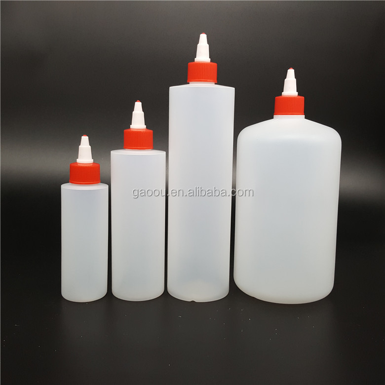 240ml 480ml HDPE plastic squeeze <strong>bottle</strong> with tip top cap