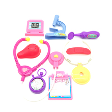 Hot sale plastic mini doctor play set toys