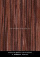 engineered reconstituted ebony rubber molds stone veneer for wooden decoration