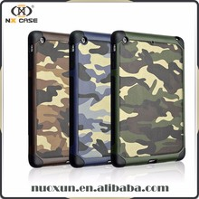 New hot design camoflage leather mini for ipad cases