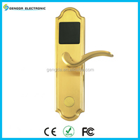 Fashionable Copper Key Card Control Remote Lock