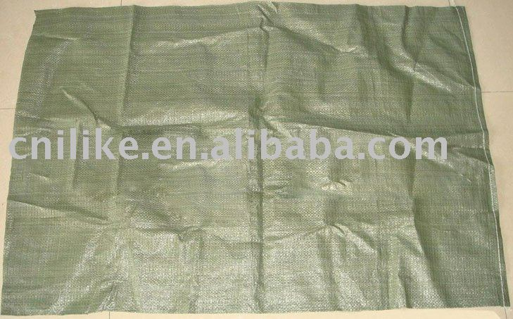 green color cement,sand,building waste pp woven bag