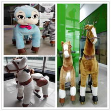 New arrival!!!HI CE ride on cycle for kids,mechanical ride on horse toy