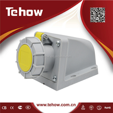 Impermeable IP67 Industrial socket 16A 32A 63A