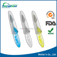 TarOFF plastic soft pick interdental brush