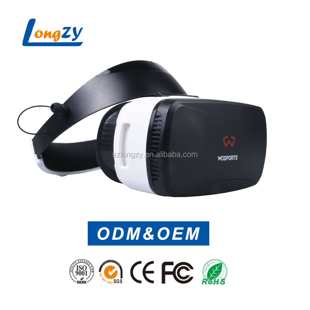 All in one vr headset virtual reality 3d glasses headset for blue film video open sexy movies