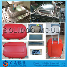 plastic injection suitcase mold, luggage box mould, luggage mould