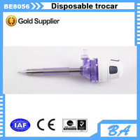 Medical surgical disposable laparoscopic troca with safety