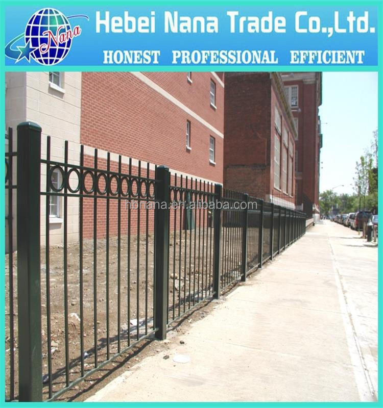 Top-selling ornamental fence / security palisade fence / decorative fence factory price