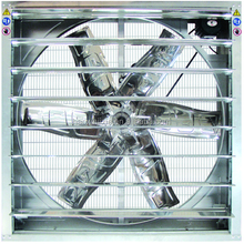 "Industrial Agricultural Heavy Duty 60"" Stainless exhaust fan galv. Louvers 230v"
