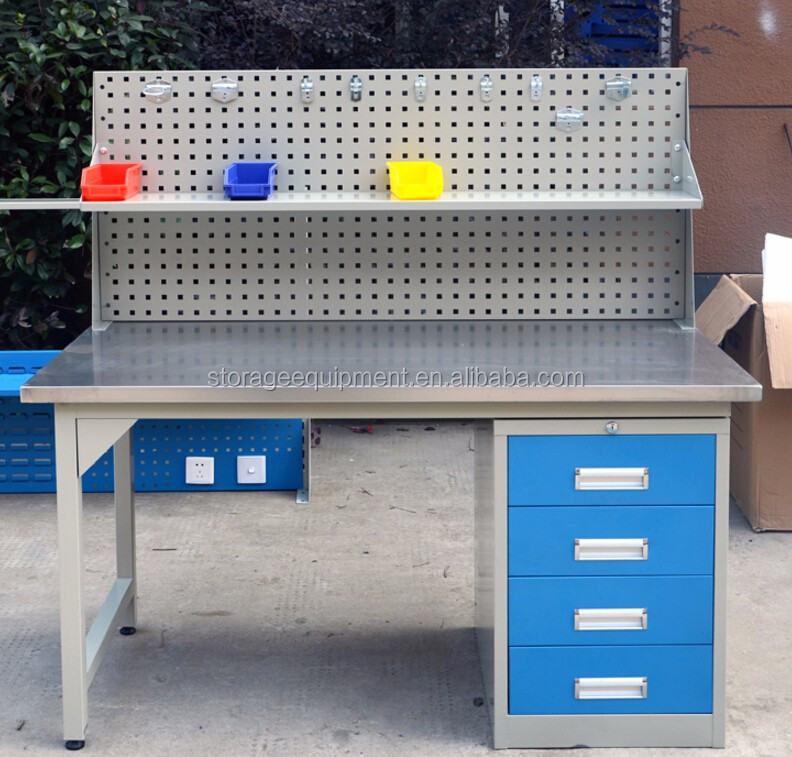 metal workshop work table