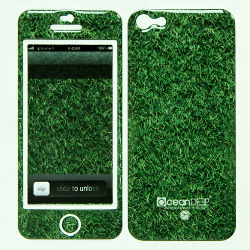 fancy design epoxy gel sticker for apple iphone 5c mobile phone skin 3m
