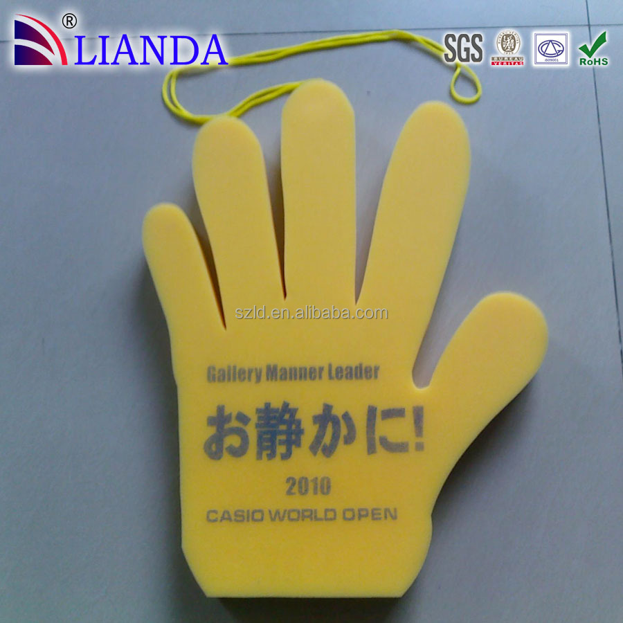 Customized Foam Finger, Personalized Cheap Foam Finger for cheering, sports, game