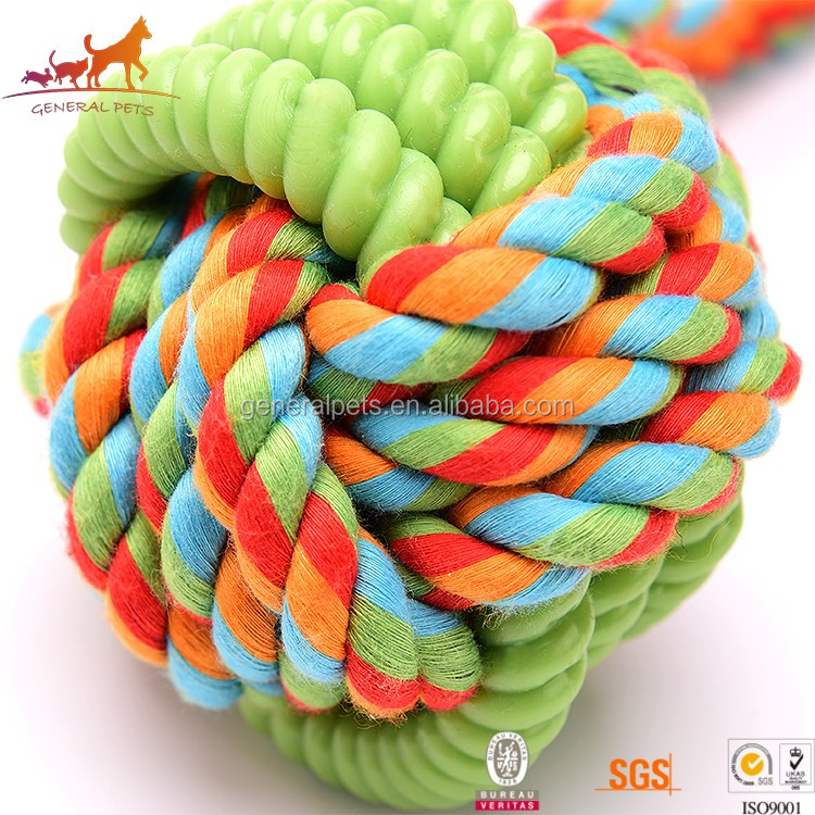 Cotton Rope Knot Dog Rope Toy Eco Friendly Pet Toys for Dog