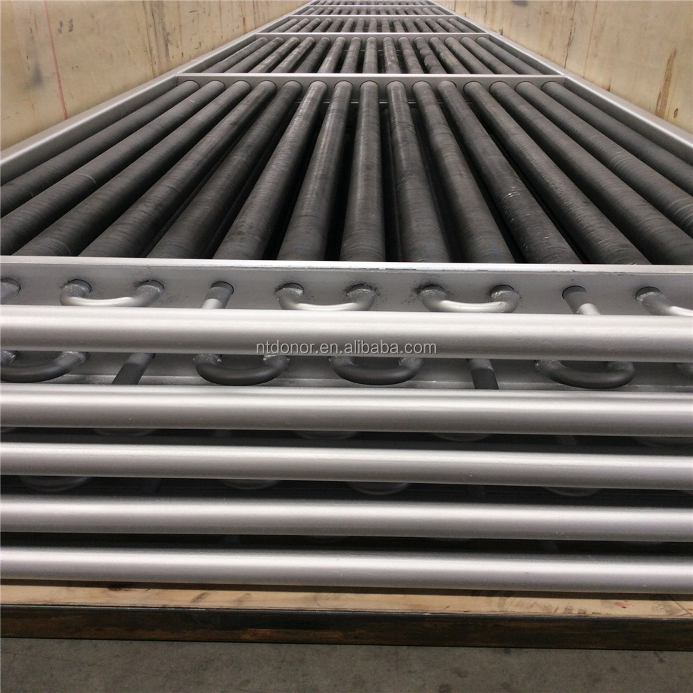 carbon steel tube with AL1060 extruded fin tube frame heat exchange for wood drying