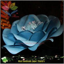 2017 hight quality new products hot sale large artificial big satin decoration flower