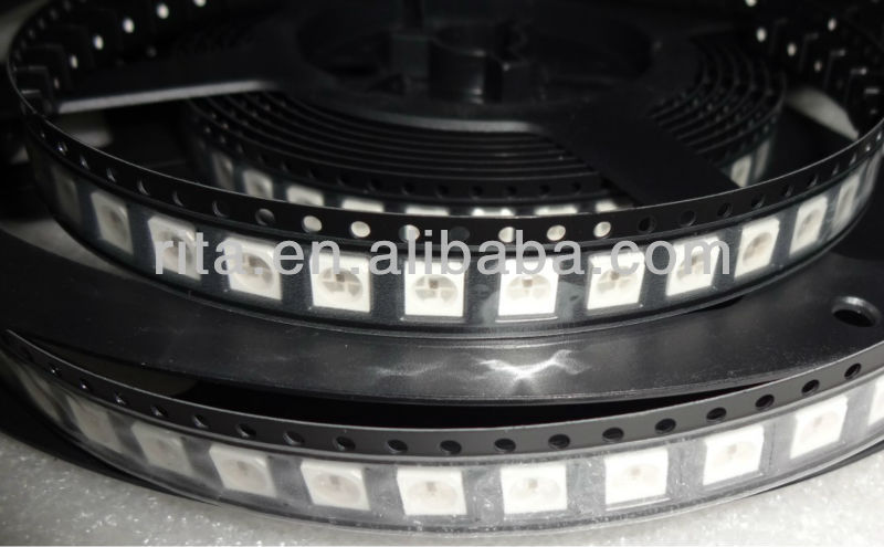 1000 pcs WS2812B ; 4pin ; 5050 SMD LED RGB com built in WS2811 IC dentro ;