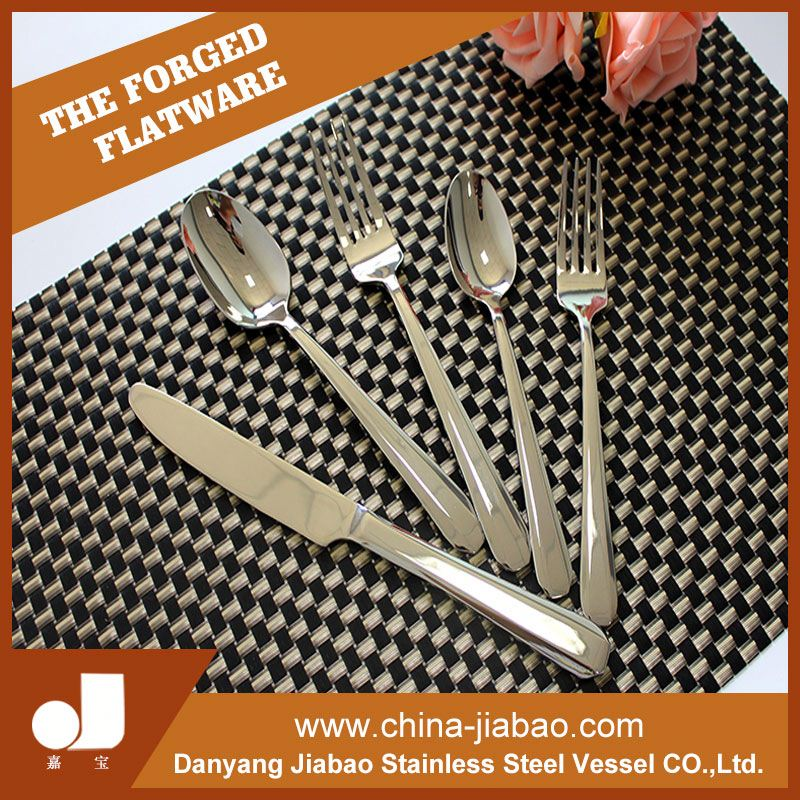 High grade stainless steel names of cutlery set items