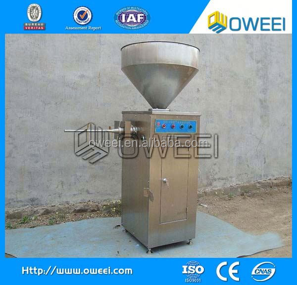 hot selling China stainless steel meat pneumatic sausage stuffer manufacturer