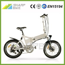 2015 Hot sell 250w 36v green energy adult fold bicicleta electrica made in China