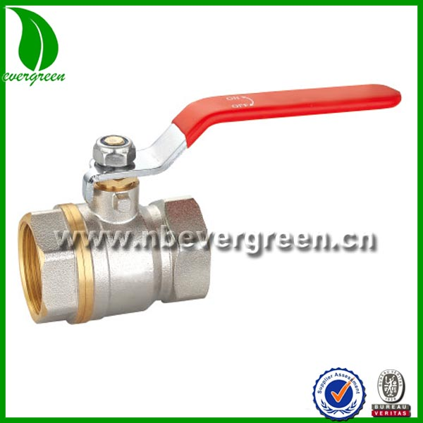 china supplier oil and gas brass ball valve