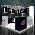 China fashion 10ft exhibit display stand standard exhibition booth design