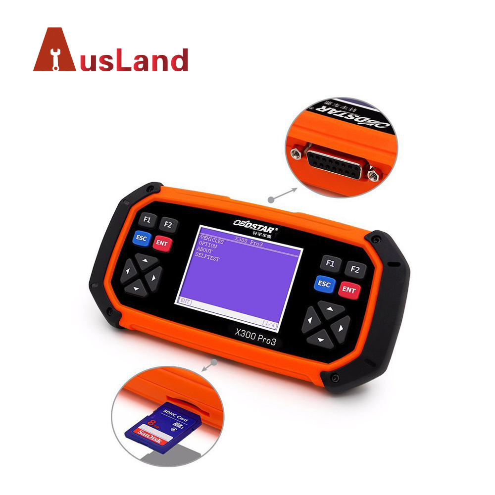 Original Car Key Programming Software OBDStar X300 Pro3 Locksmith Tools X300 Key Programmer