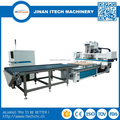 jinan furniture cabinet auto load and unload cnc router machine with Spindles Pneumatic Tool Changing ATC