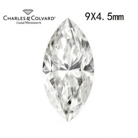 Charles Colvard Marquise Cut Loose Moissanite Gemstones Authorized Distributor