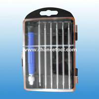 7pcs precision two way screwdriver set/screwdriver set optical SBP029