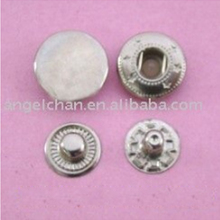 Spring snap fasteners metal button ( press snap button , cheap button )