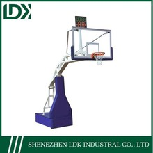 2014 Hot sale portable adjustable kids basketball stand