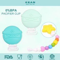 Wholesale BPA Free Silicone Plastic Dummy Clip