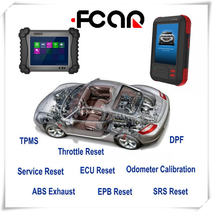 Factory price automotive diagnostic scanner FCAR F3S-W for global gasoline cars---Japan, Europe, China, America,etc