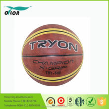 Promotional custom cartoon picture rubber basketballs