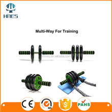 Convenient And More Effectively Better Balance Dual Wheel Designed Gym AB Wheel