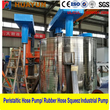 Fully explosion proof chemical double shaft Disperser for sale High speed high shear disperser emulsifier homogenizer mixer