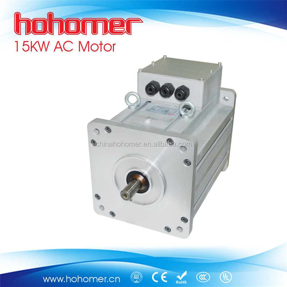 Hohomer ac electric car motor 15kw