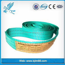 CE ISO lifting rubber sling