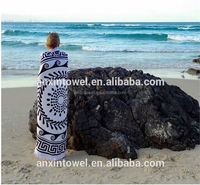 Hot selling sarong beach towel with great price foreign trade beach towel