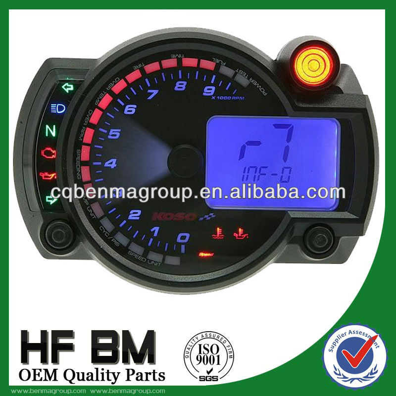 Universal style ,LCD Digitaal speedometer for motorcycle. Hot sale lcd digital speedometer motorcycle