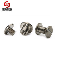 Hardware High Quality Binder Screw Book Binding Screw Male Female Removable Screw Fastener