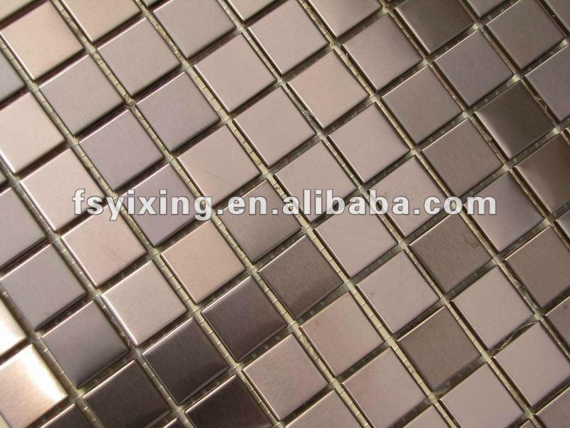 Copia de seguridad de malla 3d de metal mosaico de - Copia de azulejos ...